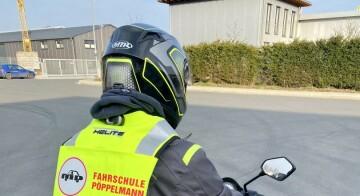Neue Airbagwesten in der Zweiradausbildung = Safety First 🏍👌🏼