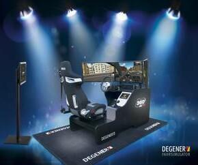 *NEU* Fahrsimulator Sim Drive 360°  *NEU*
